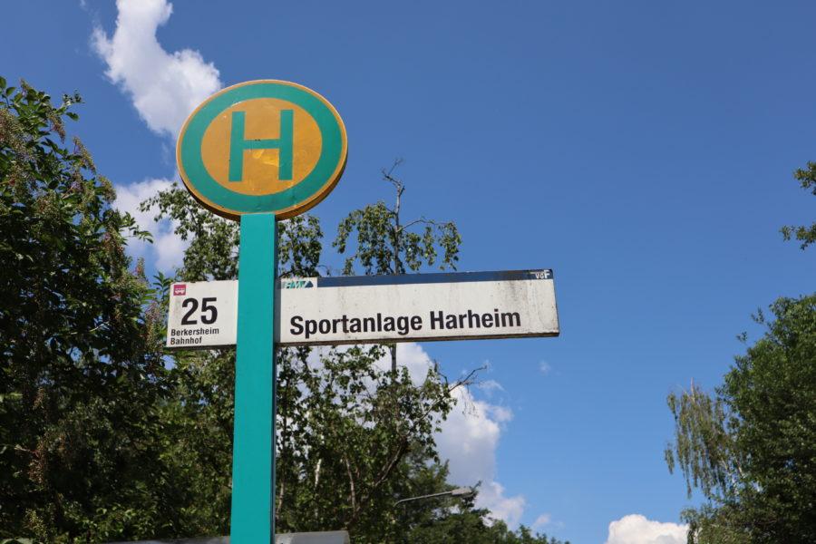 Haltestelle Sportanlage Harheim