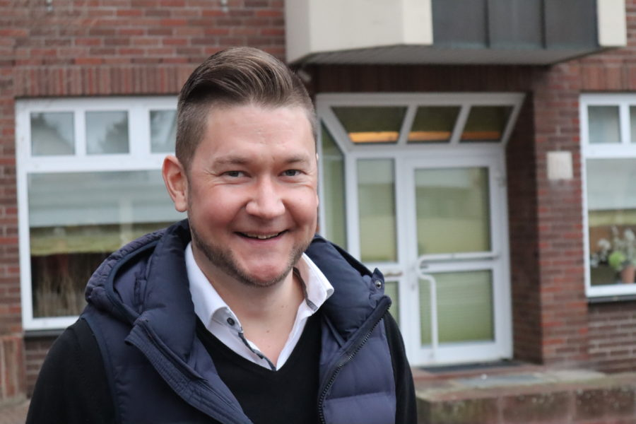 Fraktionsvorsitzender Sebastian Menges